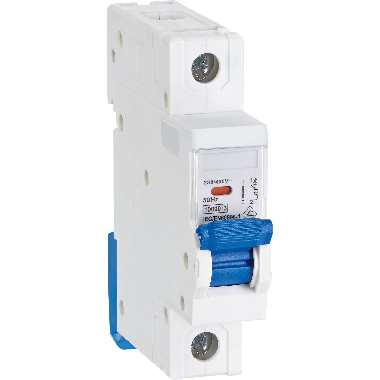 Einbauautomat 1-polig 10 A