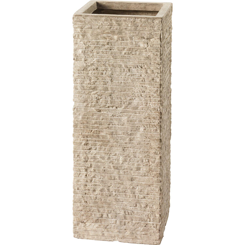 obi pflanztopf bernay 19 5 cm x 50 cm beige kaufen bei obi. Black Bedroom Furniture Sets. Home Design Ideas