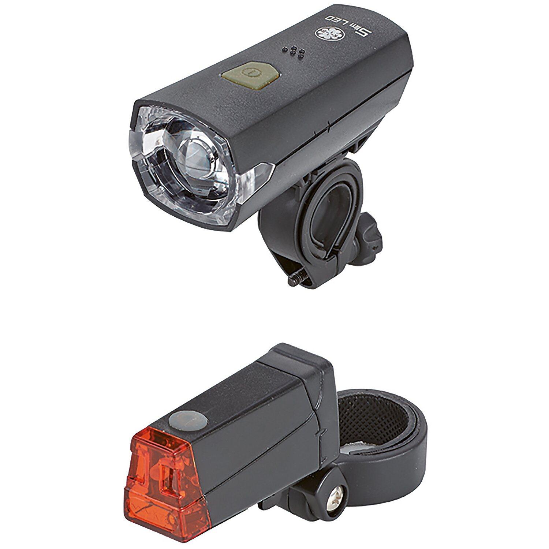Prophete LED Batterieleuchten-Set 12 lx für's Fahrrad
