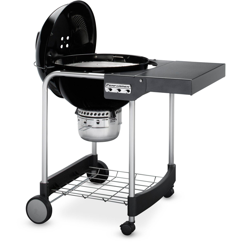 weber holzkohle grillwagen performer gbs 57 cm mit extra. Black Bedroom Furniture Sets. Home Design Ideas