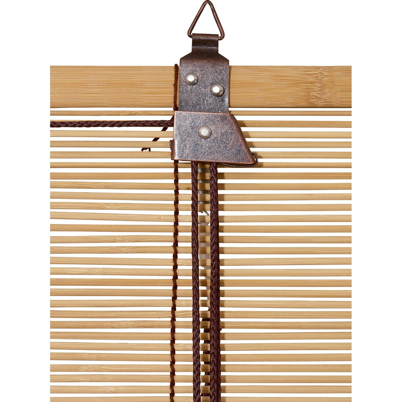 Obi Bambus Raffrollo 80 Cm X 160 Cm Eiche Kaufen Bei Obi