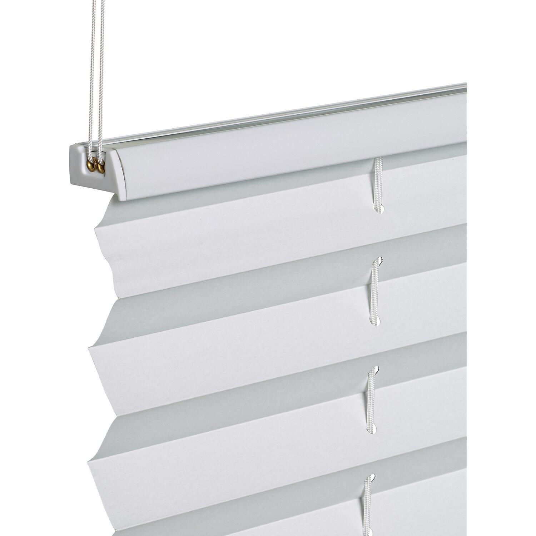 obi verspanntes thermo plissee tona 75 cm x 130 cm wei kaufen bei obi. Black Bedroom Furniture Sets. Home Design Ideas