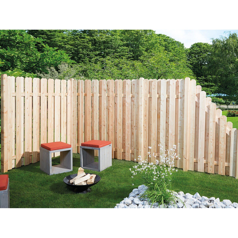 sichtschutzzaun element l neburg l rche natur 180 cm x 90 cm x 5 6 cm kaufen bei obi. Black Bedroom Furniture Sets. Home Design Ideas