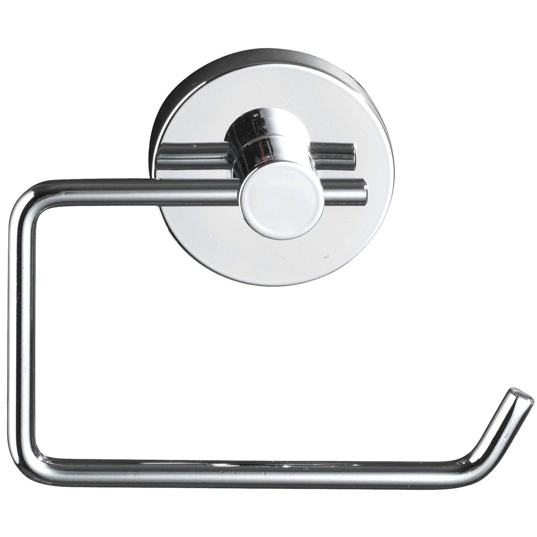 wenko vacuum loc toilettenpapierhalter milazzo chrom wei kaufen bei obi. Black Bedroom Furniture Sets. Home Design Ideas