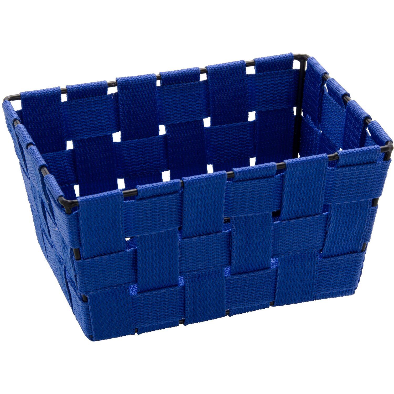 Wenko aufbewahrungskorb adria mini blau rechteckig kaufen for Planschbecken rechteckig obi