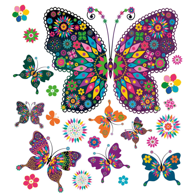 Eurographics  Fenstersticker My Pretty Butterflies