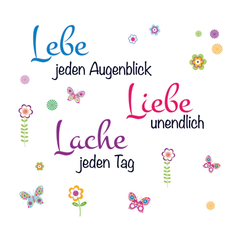 Eurographics  Deco Sticker Live, Laugh, Love