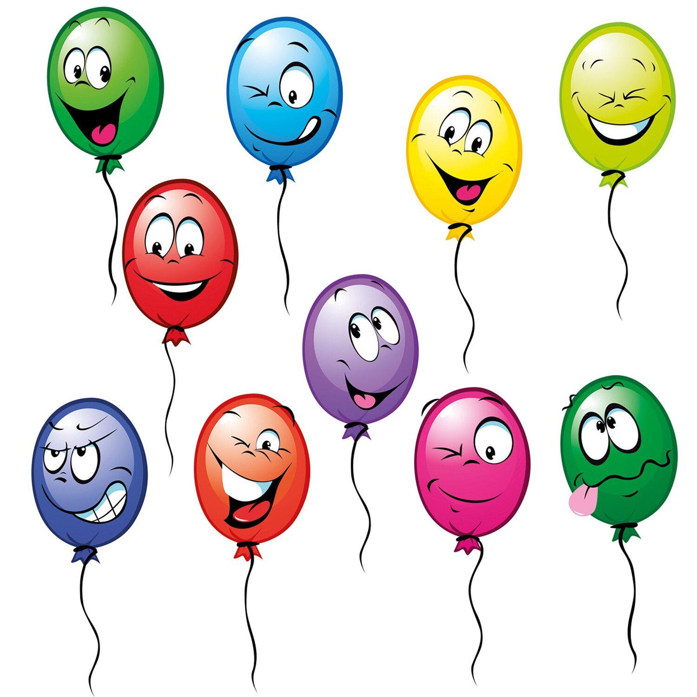 Eurographics  Fenstersticker Funny Balloons II