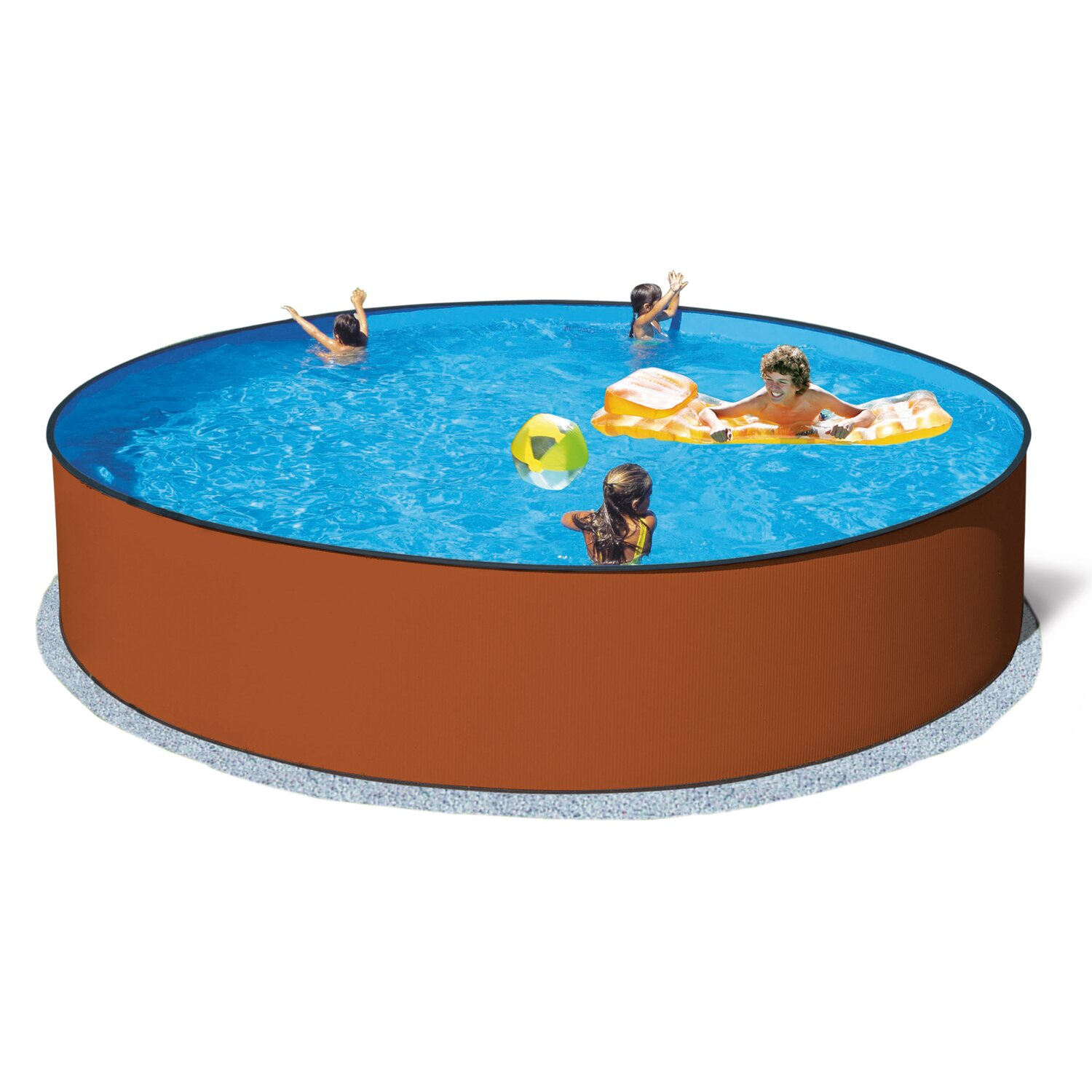 Einbaupool oval beautiful einbaupool oval with einbaupool for Bestway pool obi