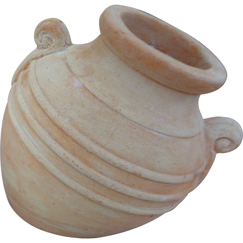 Amphore terrakotta 12 cm x 14 cm x 13 cm kaufen bei obi for Terracotta gartendekoration