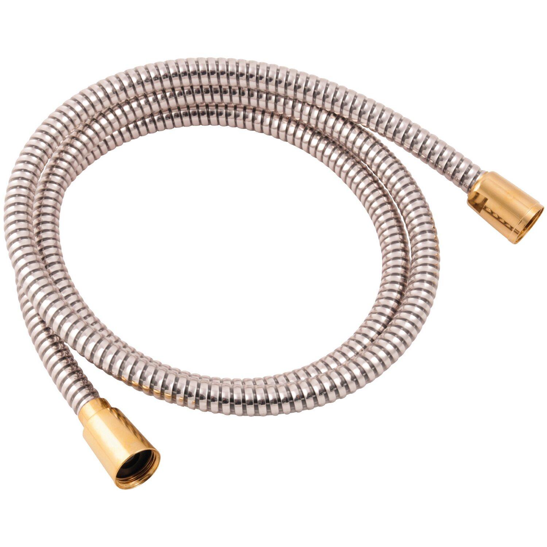 8/mm x 20/mm wei/ß 1/m flexibles Brauseschlauch-Rohr Bad-Zubeh/ör