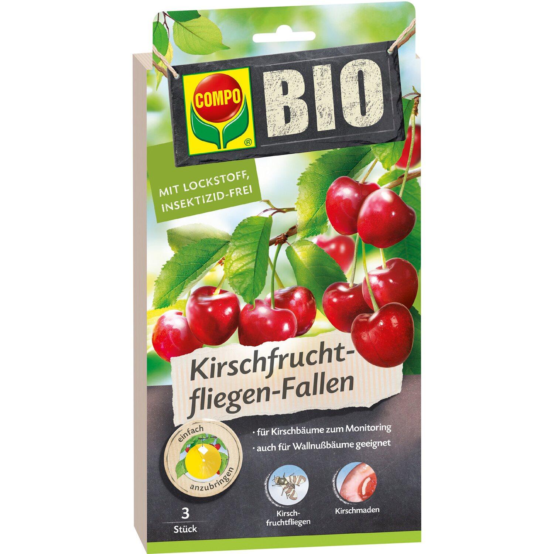 Compo  Bio Kirschfruchtfliegen-Fallen 3 Stk.