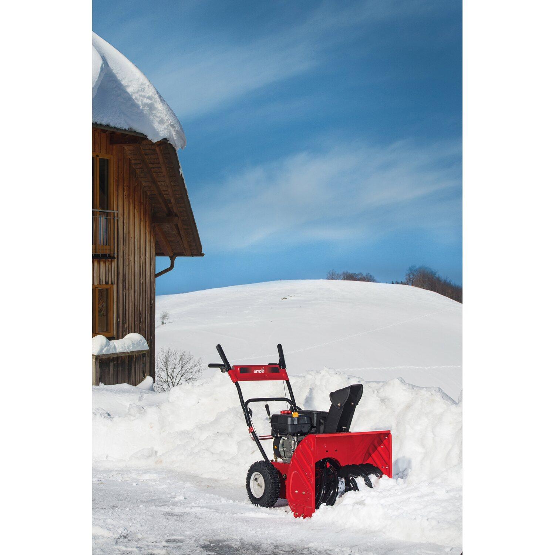 Snowblower mit 76cm Räumbreite Lenkhilfe MTD Schneefräse OPTIMA ME 76