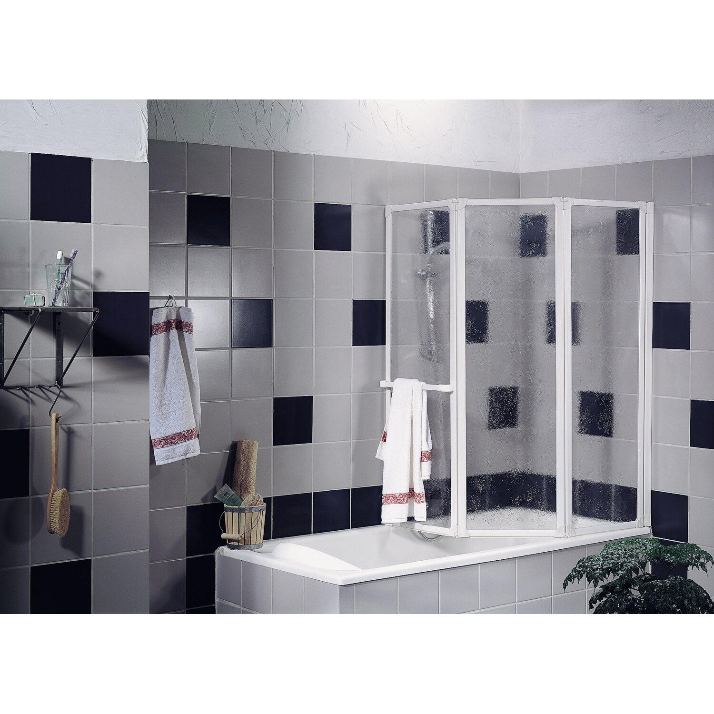 schulte badewannenaufsatz 3 teilig kunstglas softline hell wei kaufen bei obi. Black Bedroom Furniture Sets. Home Design Ideas