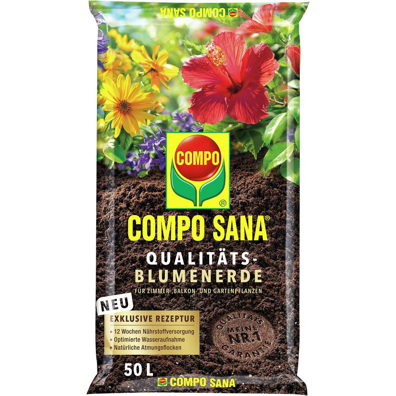 Compo Sana Qualitäts-Blumenerde 1 x 50 l