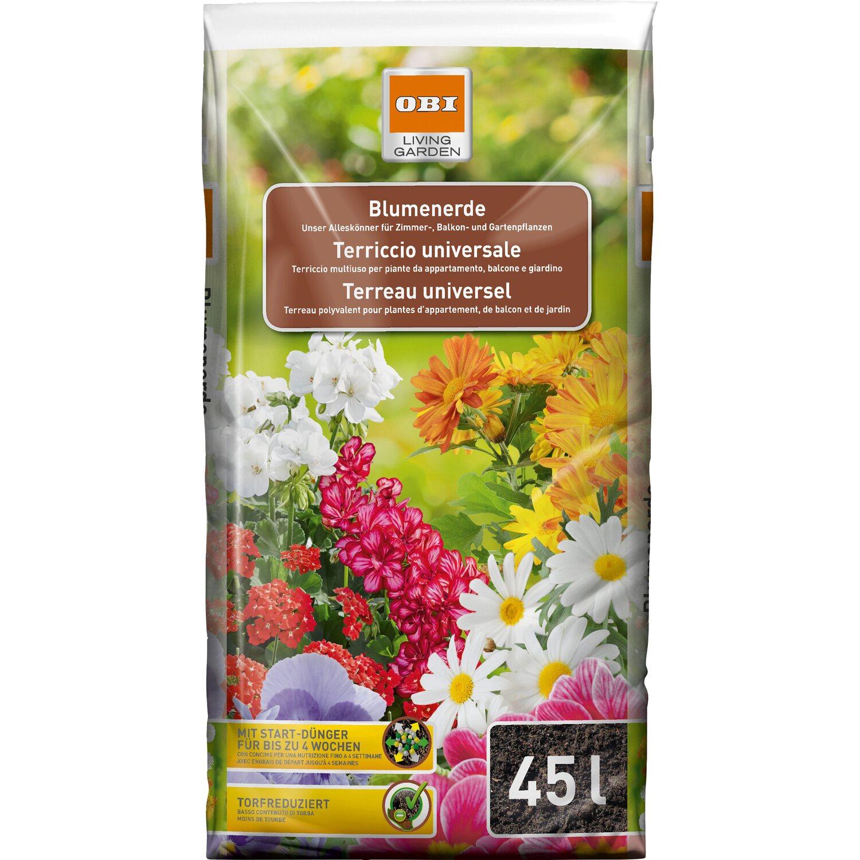 OBI Blumenerde 1 x 45 l
