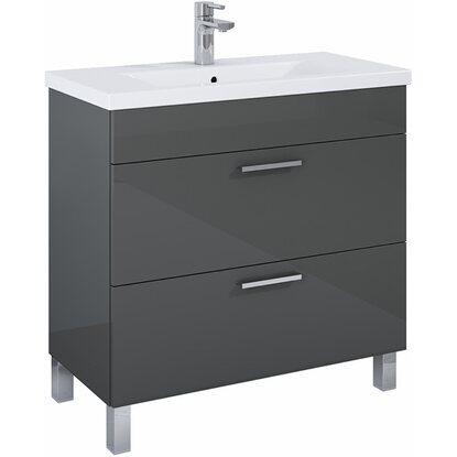 waschbeckenunterschrank 80 cm atile grau kaufen bei obi
