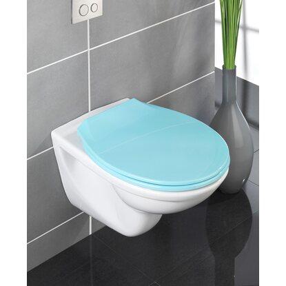 wenko wc sitz kos blau mit absenkautomatik kaufen bei obi. Black Bedroom Furniture Sets. Home Design Ideas