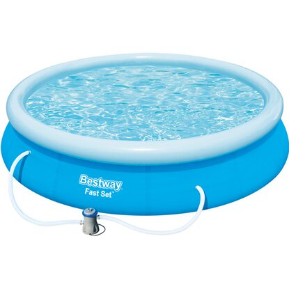 Bestway fast set swimming pool 366 cm x 76 cm kaufen bei obi for Bestway pool obi