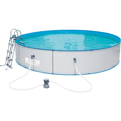 Bestway Stahlwand-Pool Set Hydrium Splasher Ø 460 cm x 90 cm