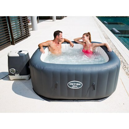 Bestway whirlpool lay z spa hawaii hydrojet pro kaufen bei obi for Bestway pool obi