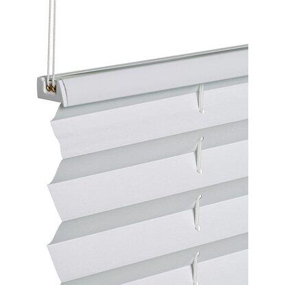 obi verspanntes thermo plissee tona 90 cm x 130 cm wei. Black Bedroom Furniture Sets. Home Design Ideas