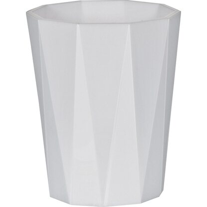 Spirella Zahnbecher Crystal White-Opaque