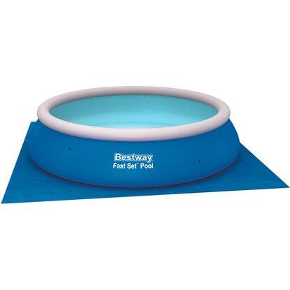 bestway pool bodenplane 3 96 m x 3 96 m kaufen bei obi. Black Bedroom Furniture Sets. Home Design Ideas