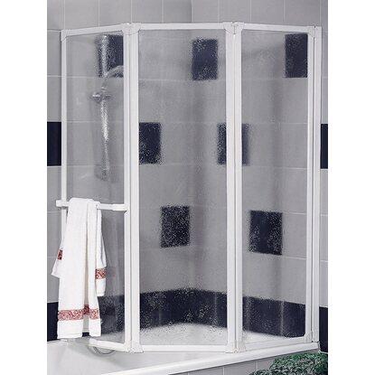 schulte badewannenaufsatz 3 teilig kunstglas softline hell alunatur kaufen bei obi. Black Bedroom Furniture Sets. Home Design Ideas