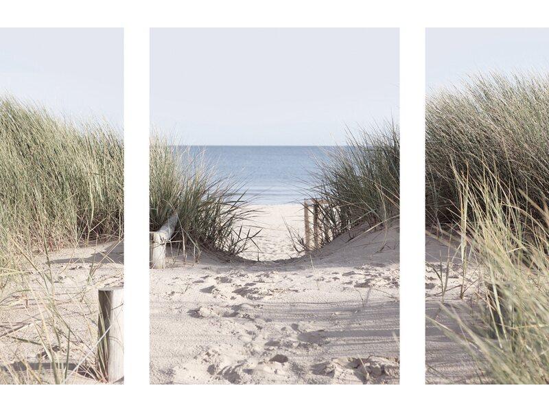 eurographics wandtattoo 3er set come to the beach kaufen. Black Bedroom Furniture Sets. Home Design Ideas