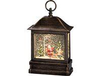 led bild warmwei weihnachtsmann tannenbaum oder. Black Bedroom Furniture Sets. Home Design Ideas