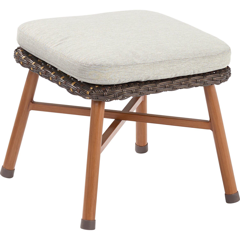 OBI Lounge-Sessel Bonfield Polyrattan inkl. Hocker kaufen bei OBI