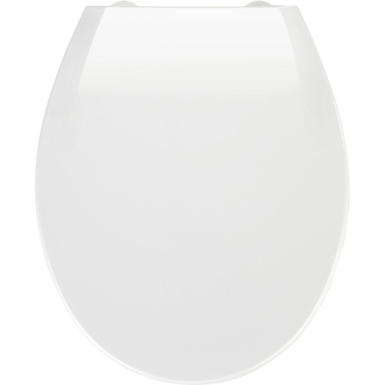 WENKO Premium WC-Sitz Kos Blau Toilettendeckel Toilettensitz WC Brille WC Deckel