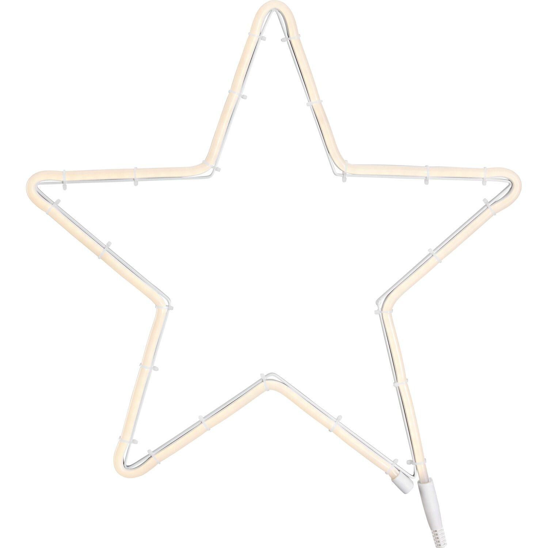 Weihnachtsbeleuchtung Aussen Stern Preise.Led Stern 144 Warmweiße Leds Innen Und Außen