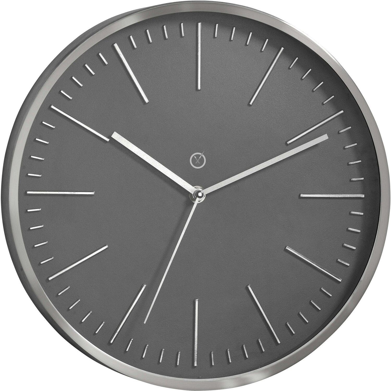 Sompex Clocks Wanduhr Dakota Dunkelgrau