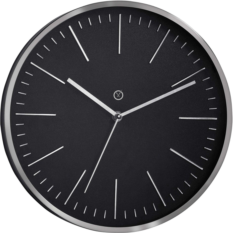 Sompex Clocks Wanduhr Dakota Schwarz