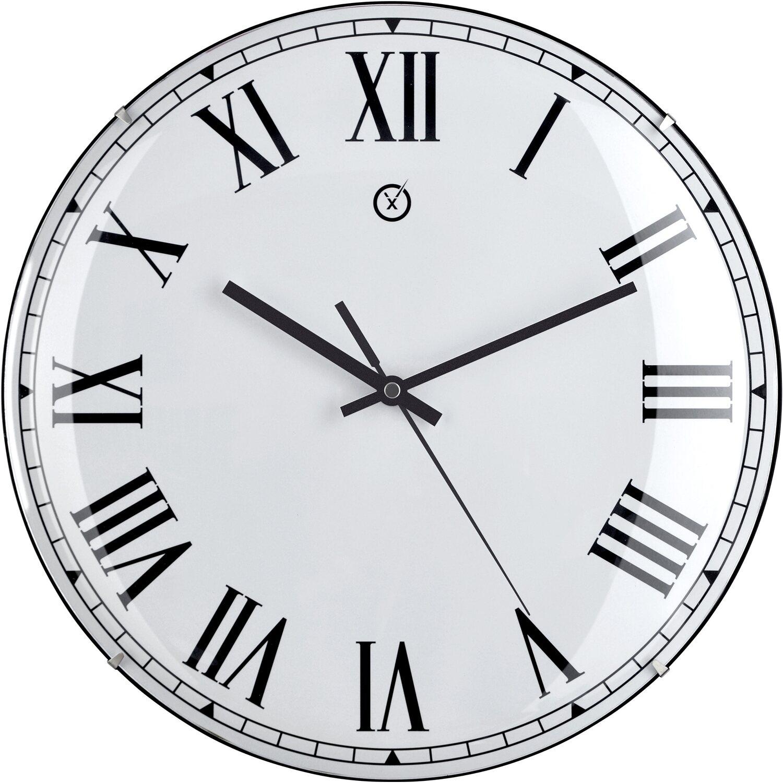 Sompex Clocks Wanduhr Lima Dome Weiß kaufen bei OBI
