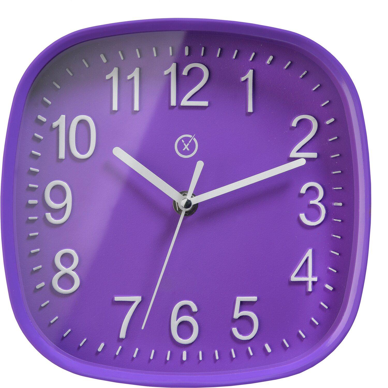 Sompex Clocks Wanduhr Bucharest Lila