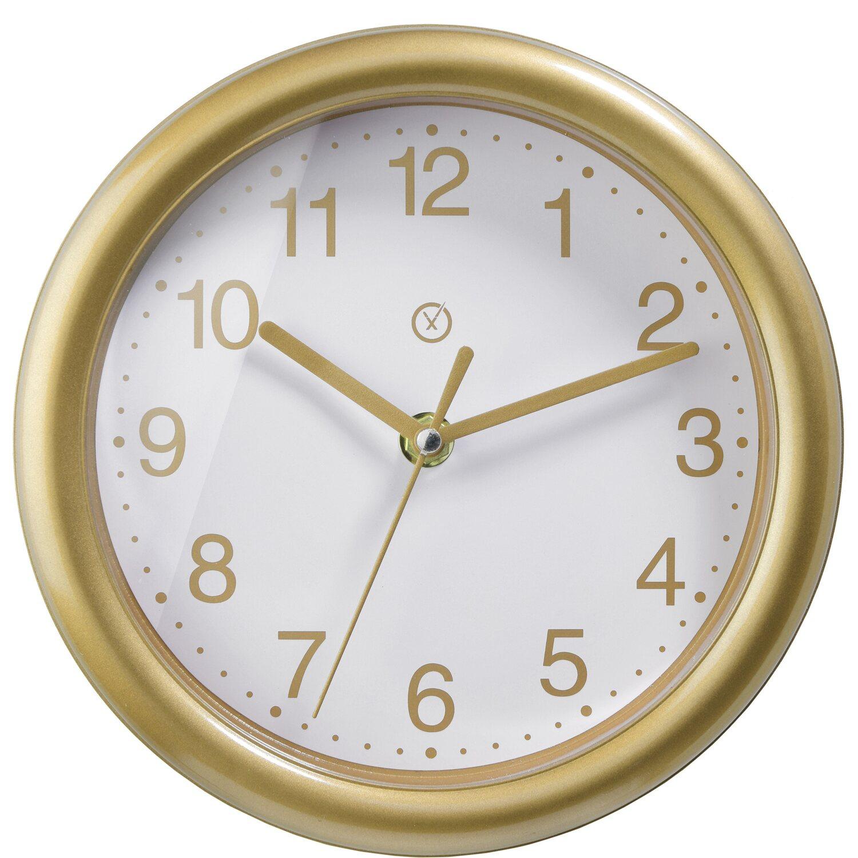 Sompex Clocks Wanduhr Belgrade Gold-Weiß