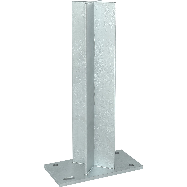 Postentrager Fur Aluminium Pfosten Kaufen Bei Obi