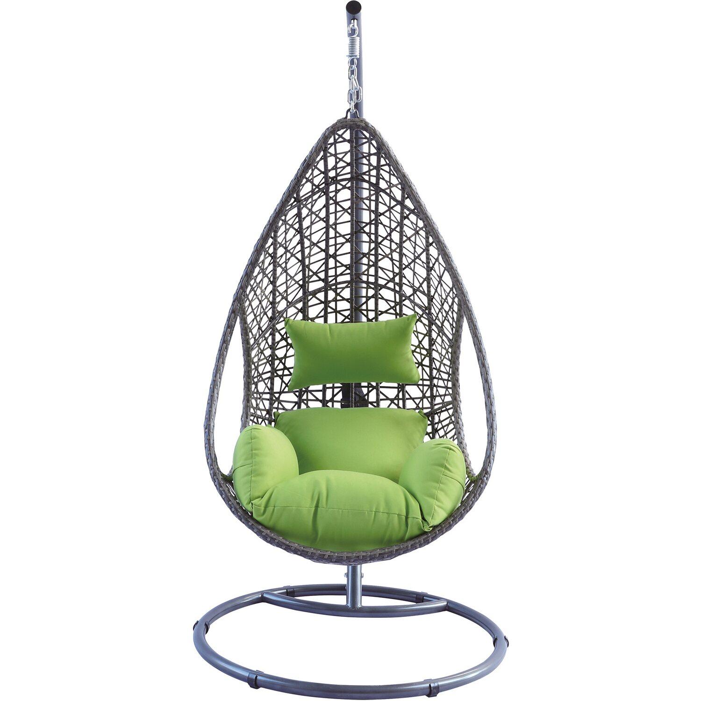 h ngesessel pinamar braun gr n kaufen bei obi. Black Bedroom Furniture Sets. Home Design Ideas