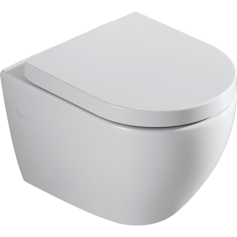 Verosan+ Wand-WC-Set Spülrandlos inkl. WC-Sitz mit Absenkautomatik