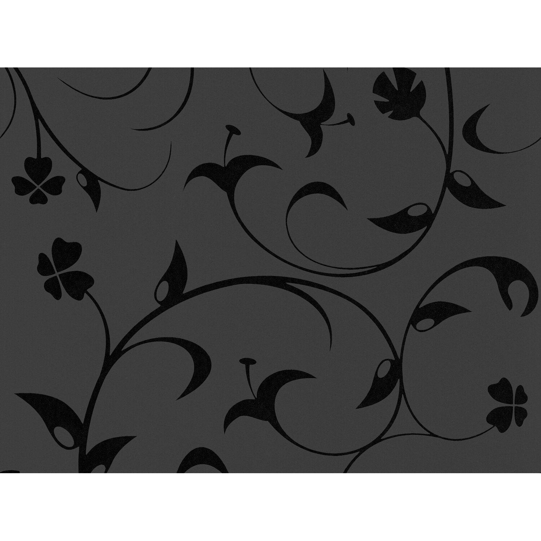 contzen vliestapete ranke schwarz kaufen bei obi. Black Bedroom Furniture Sets. Home Design Ideas