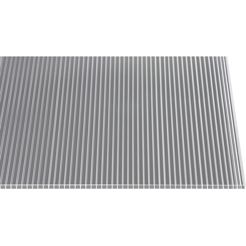 Hohlkammerplatte 10 Mm Transparent 250 Cm X 105 Cm Kaufen Bei Obi