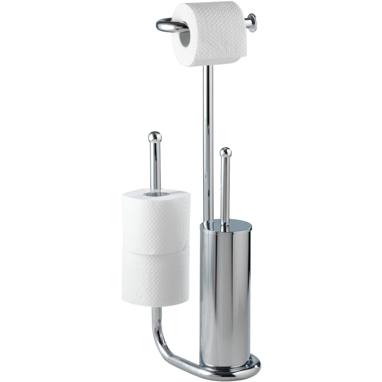 Wenko Stand WC-Garnitur Universalo Chrom