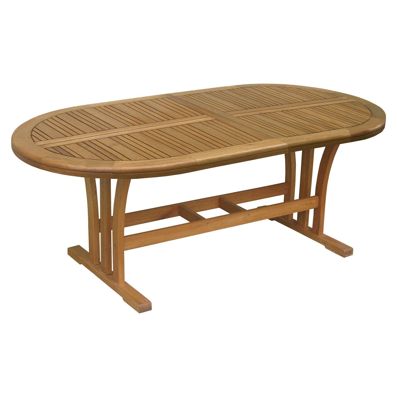 Gartentisch Chelsea Fsc Holz Oval Natur 170 Cm X 100 Cm Kaufen Bei Obi