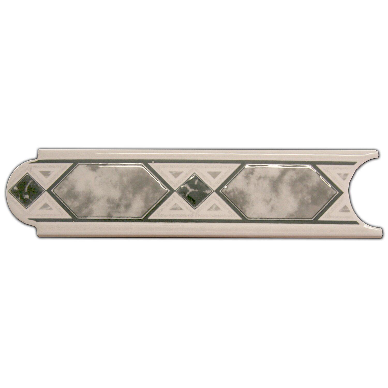 Sonstige Bordüre Malta Grau 5 cm x 20 cm