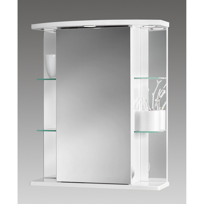 Gut bekannt Sieper Spiegelschrank Havana LED 55 cm x 66 cm x 23 cm Weiß EEK TS97