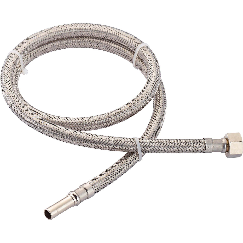 OBI Flex-Verbindungsschlauch 14,9 mm (G 3/8) x 10 mm x 1000 mm