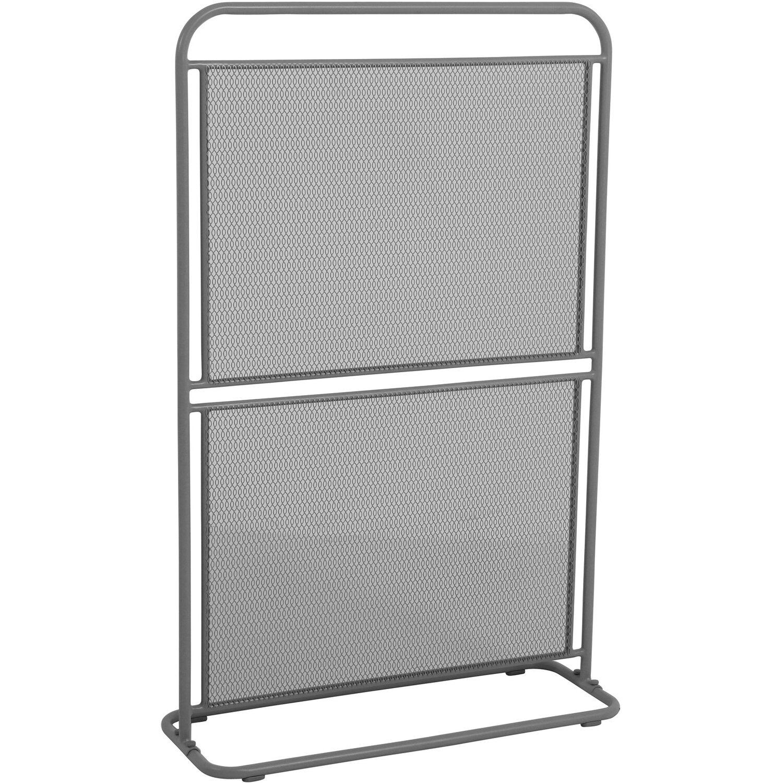 MWH Sichtschutz Divido 124 cm x 80 cm x 30 cm Eisengrau kaufen bei OBI